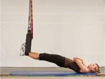 Beinmuskulatur trainieren, physioLoop, Sling Trainer